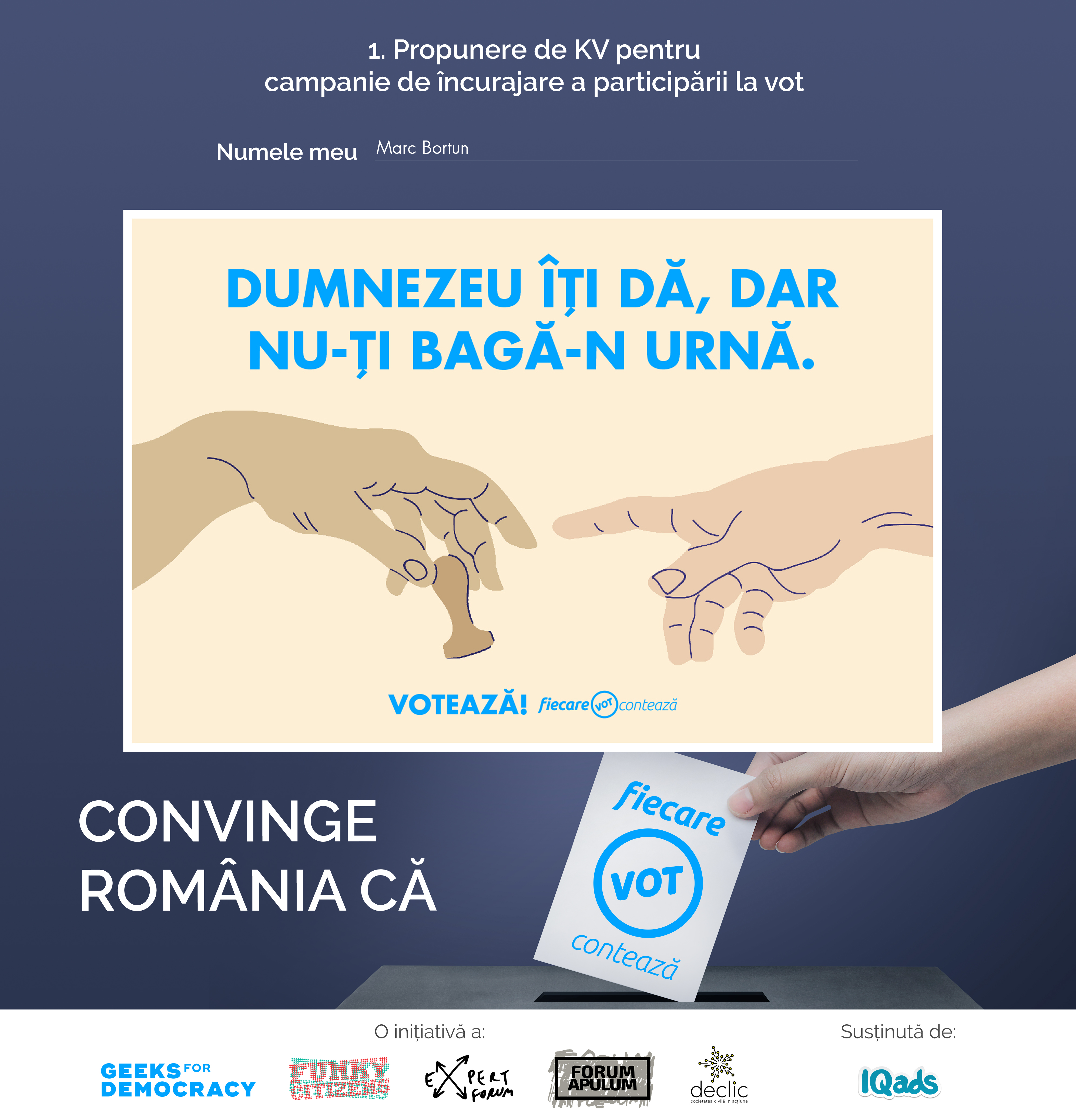 Convinge Romania Ca Fiecare Vot Conteaza